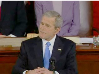 George W. Bush; January 28, 2008; State of the Union address