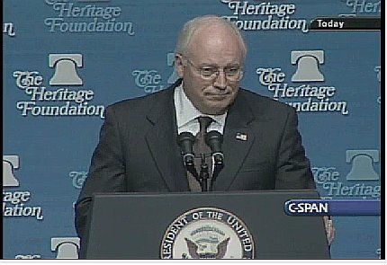 Dick Cheney; May 1, 2003