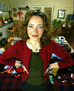 Catherin Lloyd Burns as Ms Miller on Malcolm in the Middle